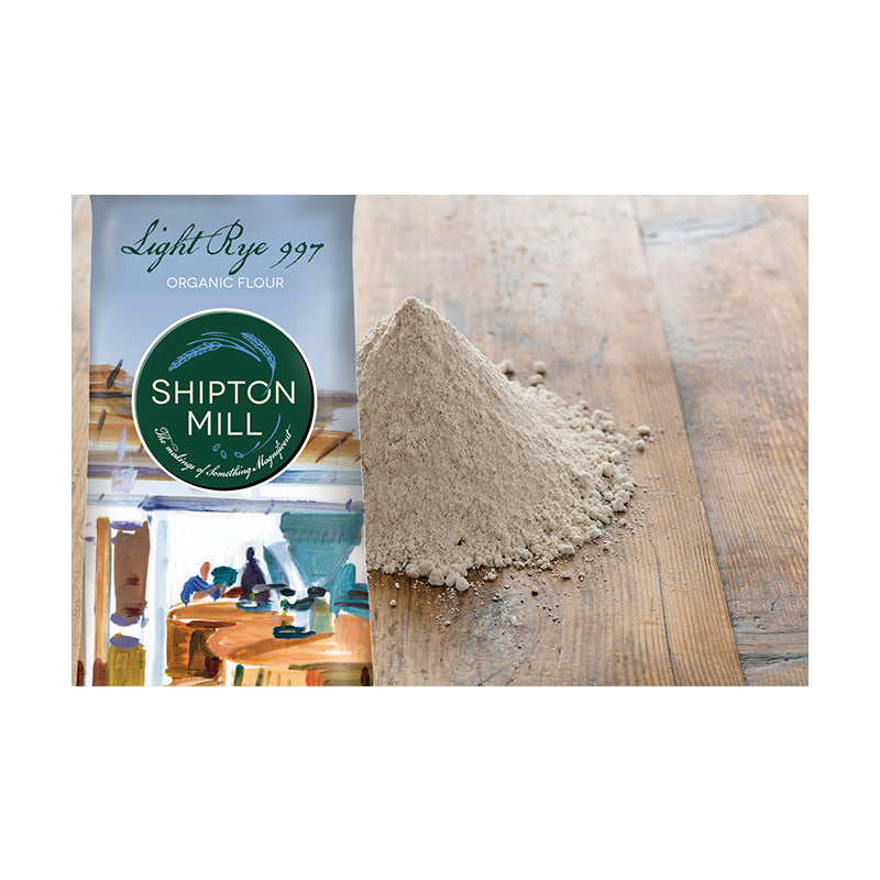 Shipton Mill - Organic Light Rye Bread Flour 1kg