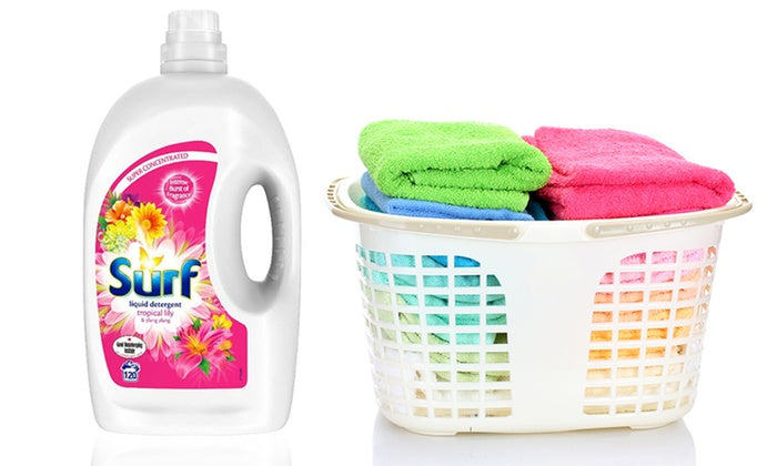 Surf Tropical Lily & Ylang Ylang Washing Liquid Detergent 120 Washes