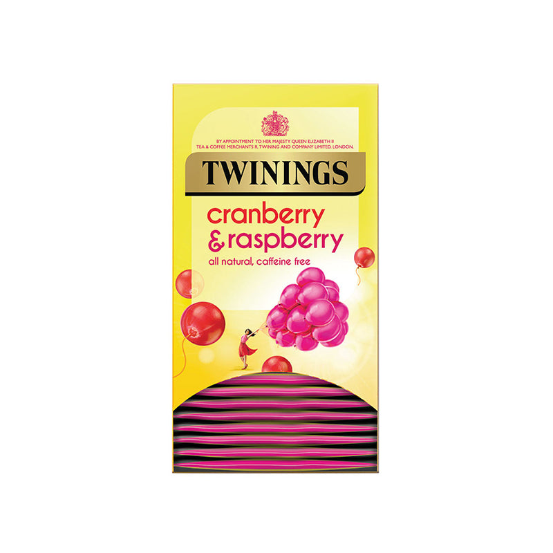 Twinings Cranberry & Raspberry Envelope 1 x 20