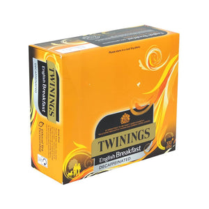 Twinings English Decaf Breakfast Tagged/Stringed 1 x 100