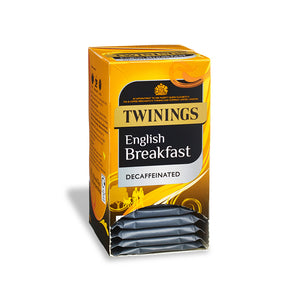 Load image into Gallery viewer, Twinings English Breakfast Decaf Envelope 1 x 20