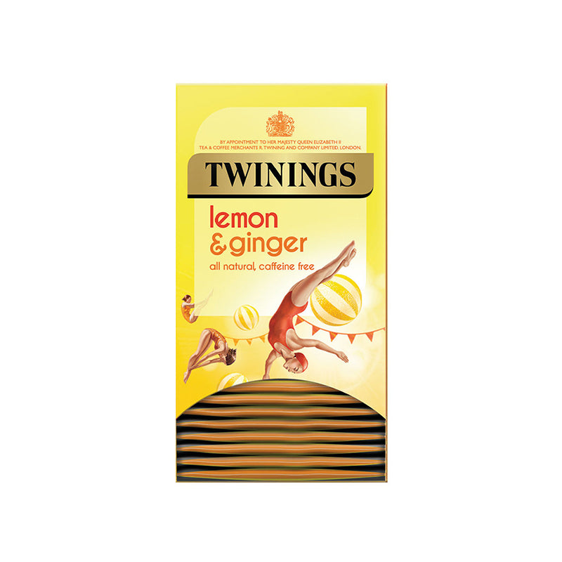 Twinings Lemon & Ginger Envelope 1 x 20