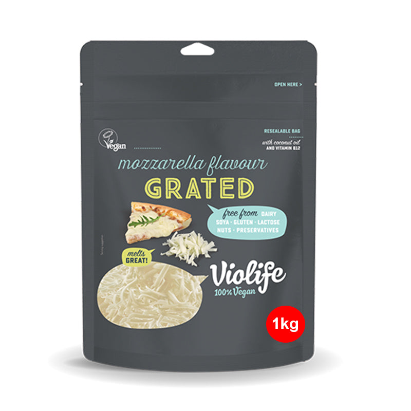 Violife Vegan Pizza Mozzarella Grated 1kg