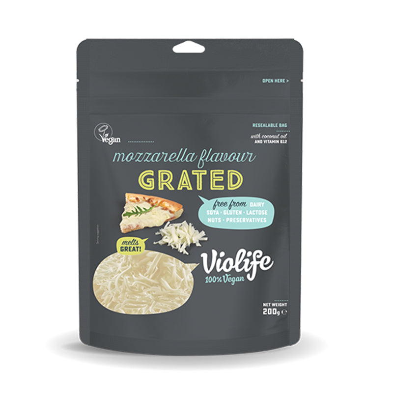 Violife Vegan Mozzarella Grated 200g