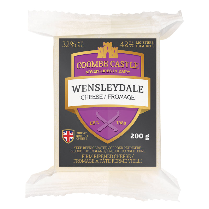 Coombe Castle Wenslydale 200g