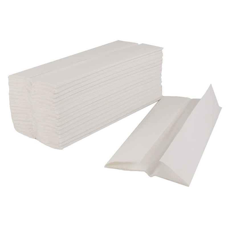 Luxury White Paper Hand Towels 1 x 2400