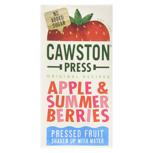 Cawston Press Apple & Summer Berries Tetra Cartons 18 x 200ml