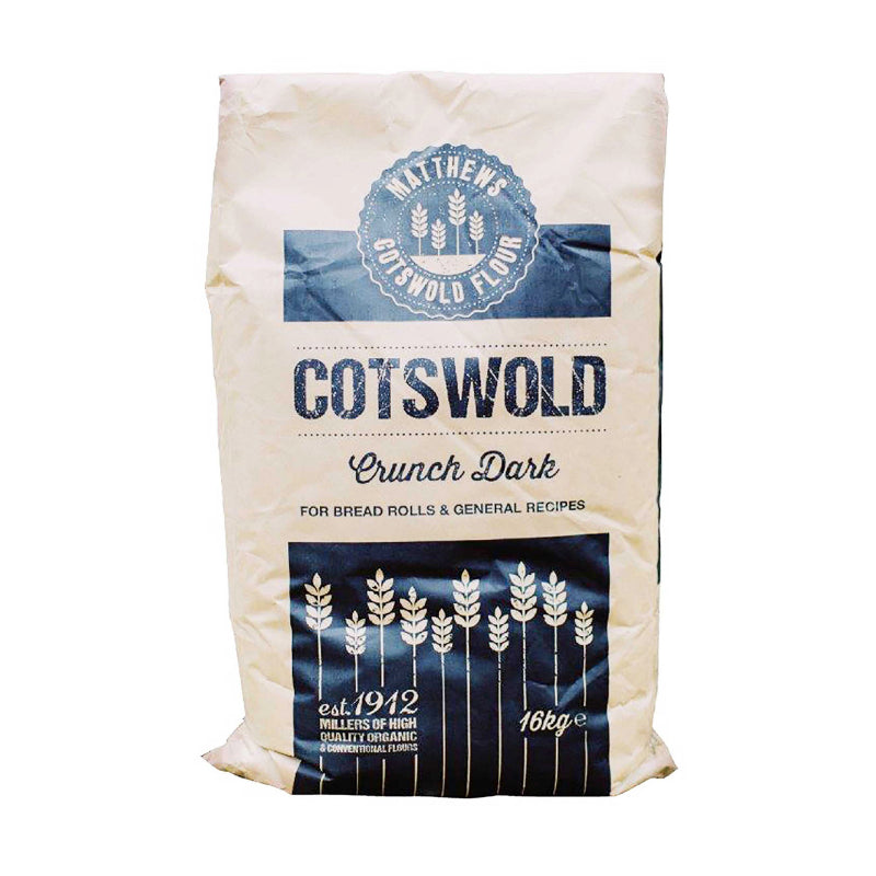 Load image into Gallery viewer, FWP Matthews Dark Cotswold Crunch Bread Flour 16kg