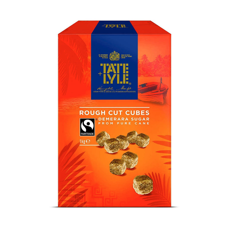 Tate & Lyle Rough Cut Demerara Sugar Cubes 1kg