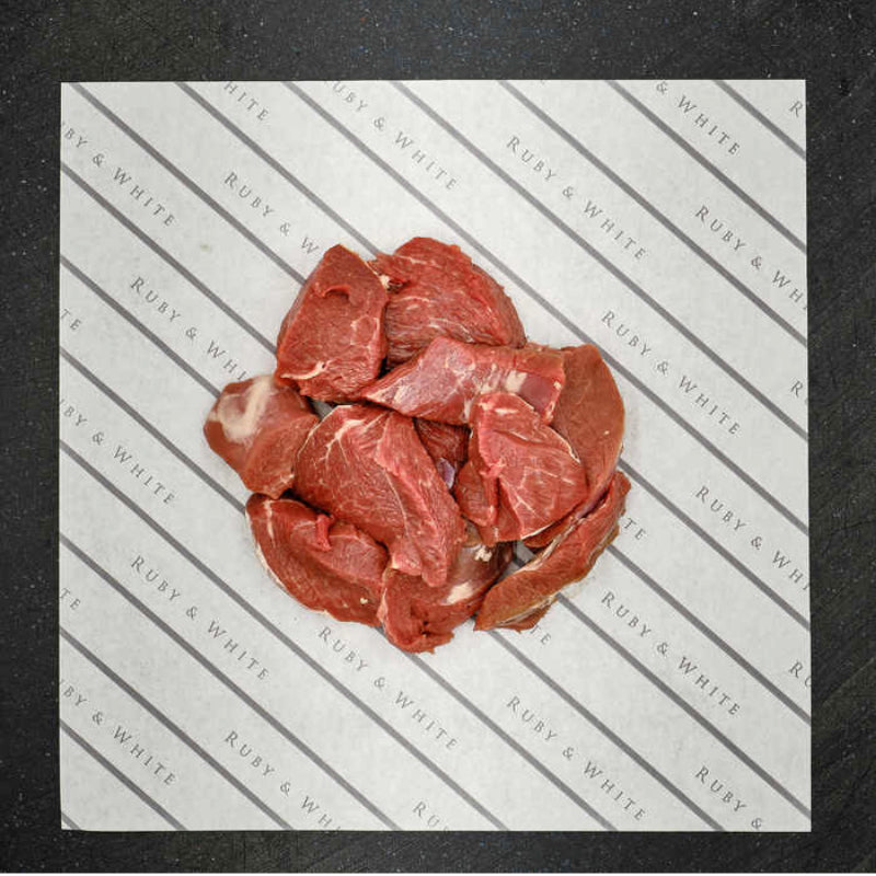 Ruby & White Diced Lamb Leg 500g