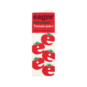 Eager pressed Tomato Juice Tetra 1L