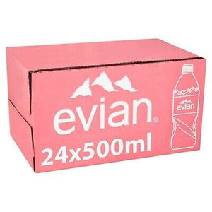 Load image into Gallery viewer, Evian Pure Mineral Water 24 x 500ml
