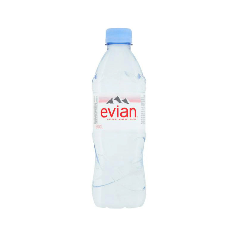 Evian Pure Mineral Water 24 x 500ml
