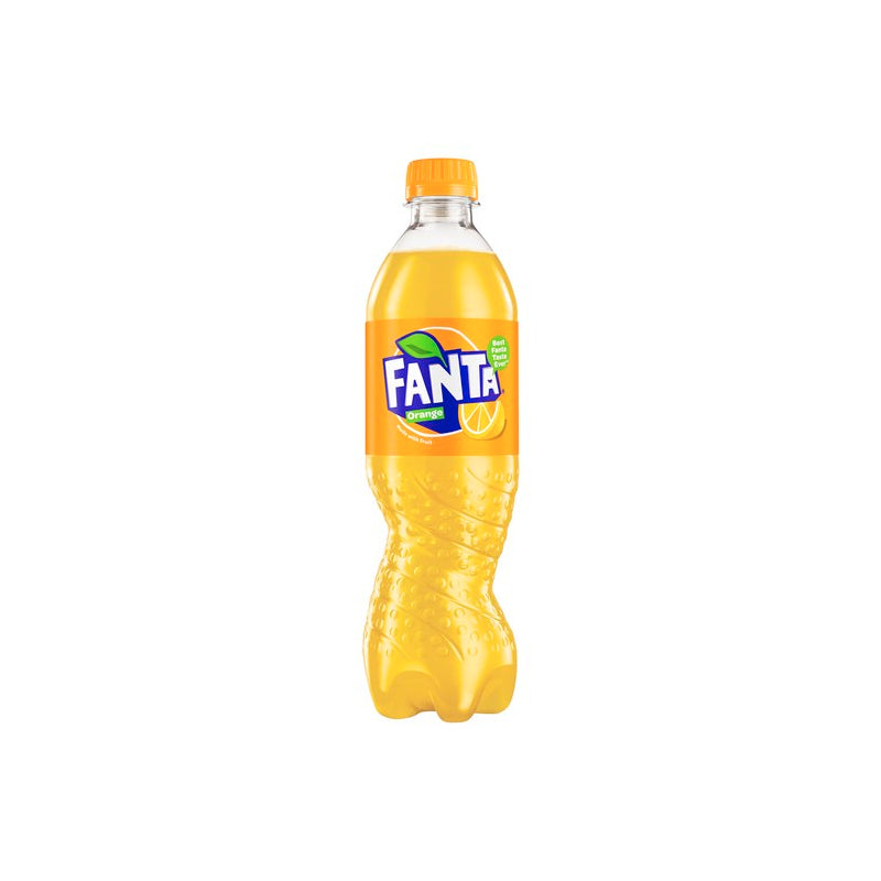Fanta Orange Bottles 12 x 500ml