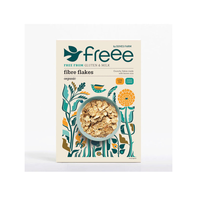 Freee by Doves Farm Gluten Free Organic Fibre Flakes 375g