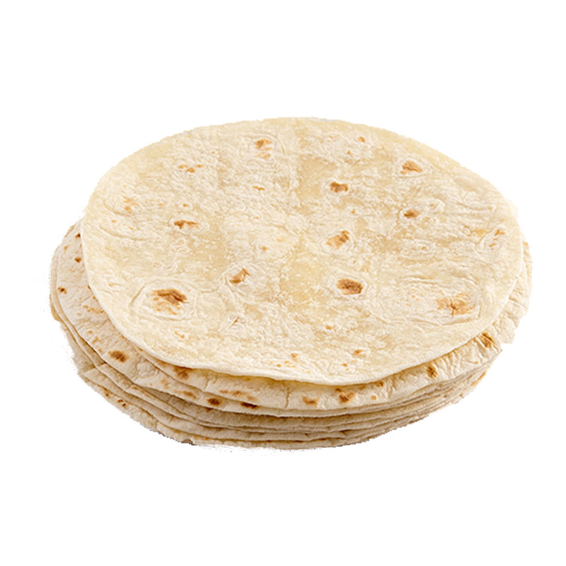 Load image into Gallery viewer, Flour Tortillas Wraps 10 inch (5 x 10)