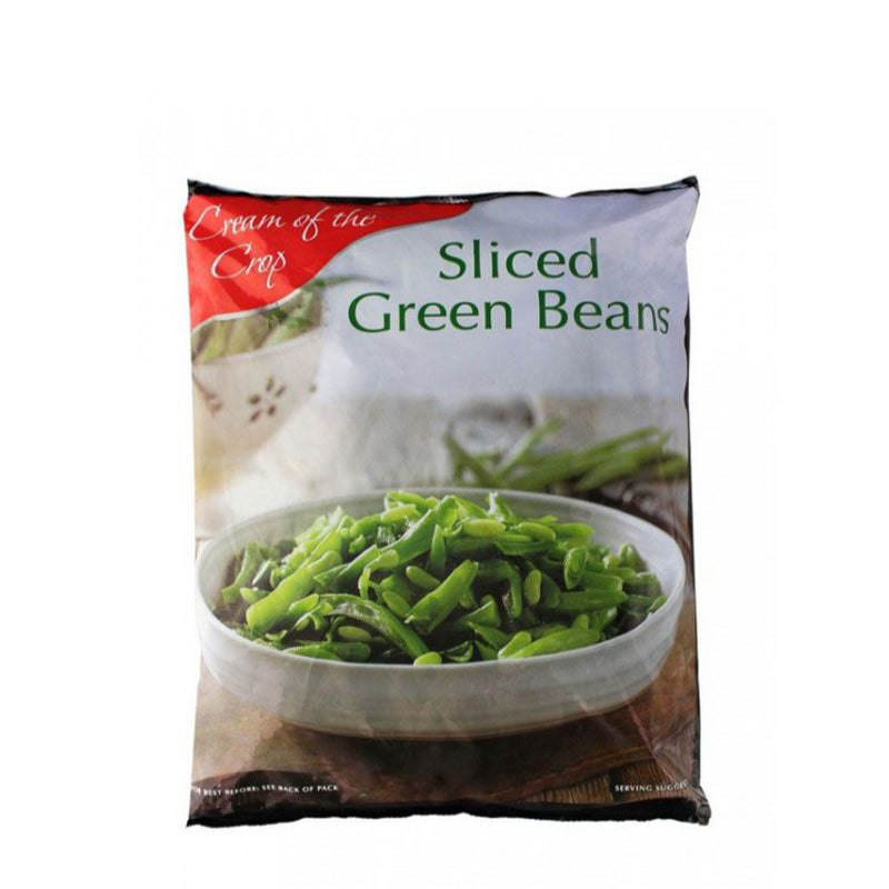 Cream of the Crop Frozen Sliced Green Beans 907g
