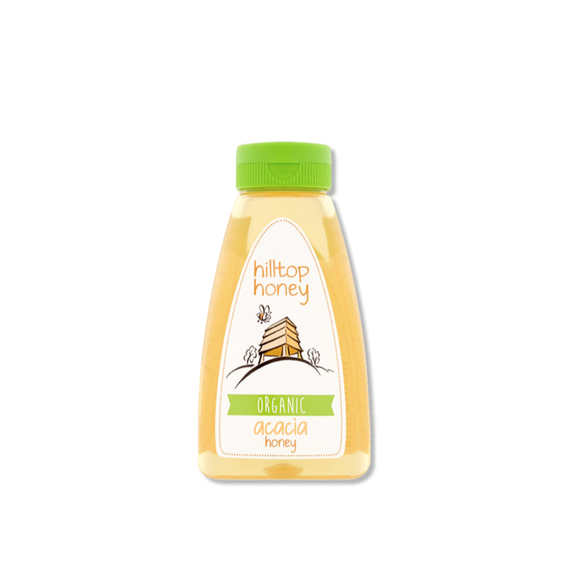 Load image into Gallery viewer, Hilltop Honey - Organic Acacia Honey 370g