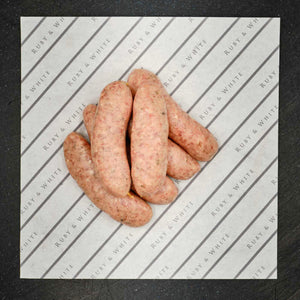 Ruby & White Lincolnshire Sausages 500g