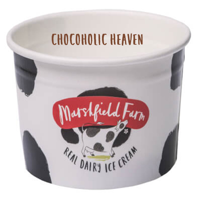 4ltr Marshfield Chocoholic Heaven Ice Cream