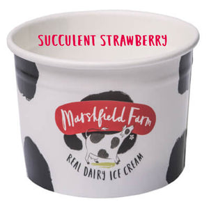 Load image into Gallery viewer, 4ltr Marshfield Strawberry Ice Cream