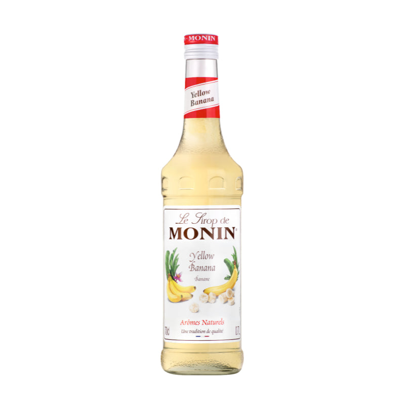 Load image into Gallery viewer, Monin Banana Coffee Syrup 70cl
