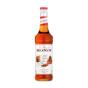 Monin Salted Caramel Coffee Syrup 70cl