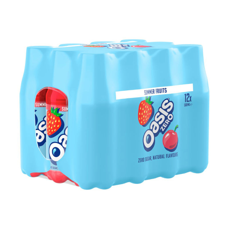 Oasis Summer Fruits 12 x 500ml