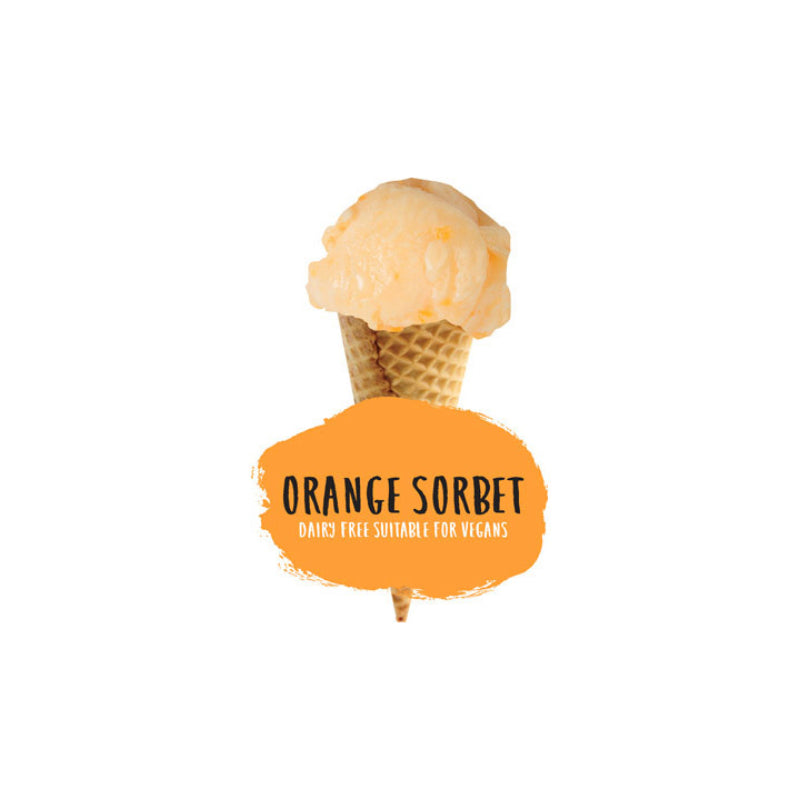 2ltr Marshfield Orange Sorbet