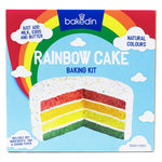 Bakedin Rainbow Cake Baking Kit 970g