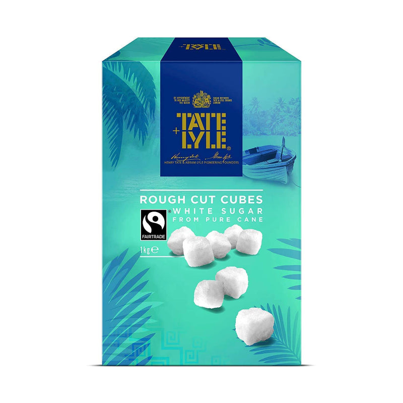 Load image into Gallery viewer, Tate & Lyle Rough Cut White Sugar Cubes 1kg