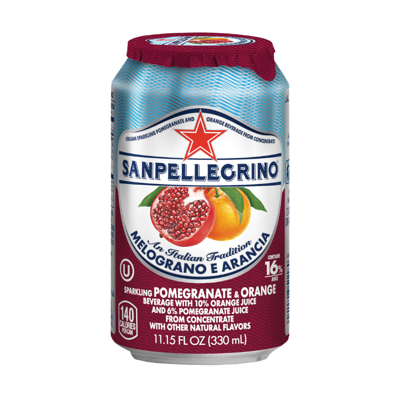 San Pellegrino Orange & Pomegranate 24 x 330ml