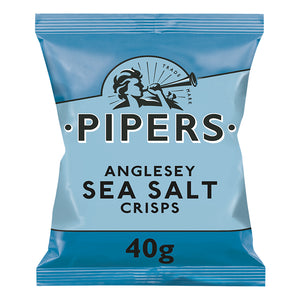 Pipers Sea Salt Crisps 24 x 40g