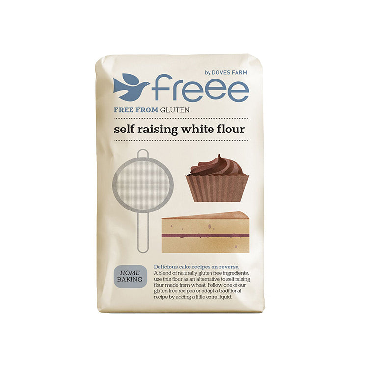 Doves Farm Gluten Free Self Raising 1kg