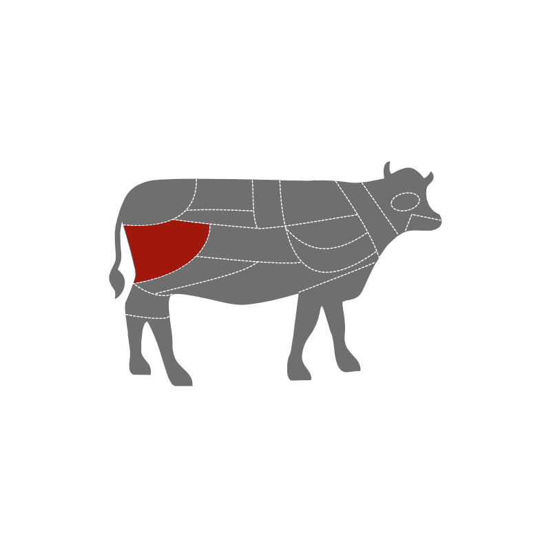 Load image into Gallery viewer, Ruby & White Rolled Silverside 2kg