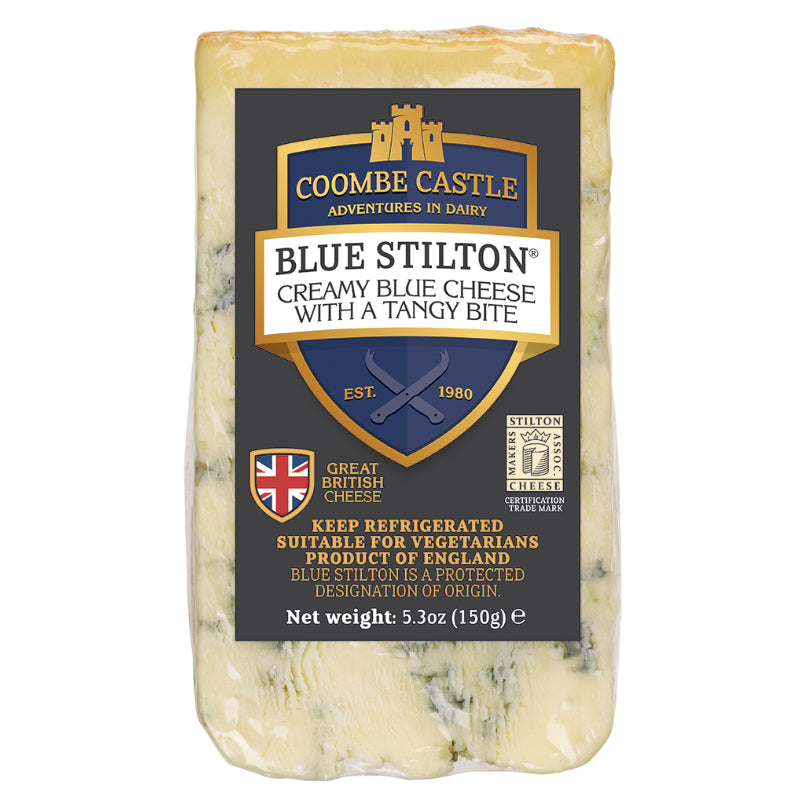 Coombe Castle Blue Stilton Wedge 150g
