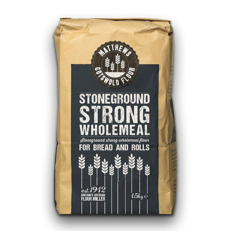 FWP Matthews Stoneground Strong Wholemeal Flour 1.5kg