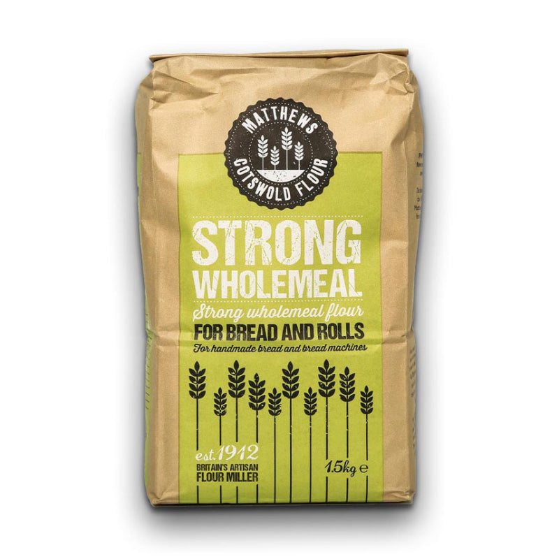Load image into Gallery viewer, FWP Matthews Strong Wholemeal Bread Flour 1.5kg