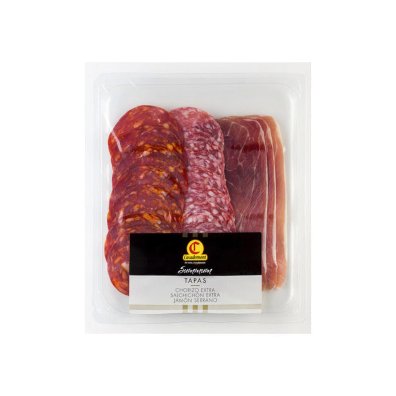 Casademont Sliced Tapas Cured Meat Selection  150g