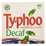 Typhoo Decaffeinated Tea Bags 1 x 80