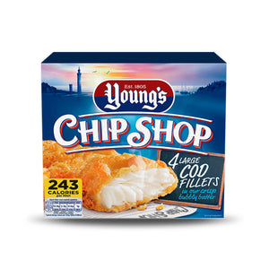 Load image into Gallery viewer, Youngs Chip Shop - 4 Large Battered Cod Fillets 480g