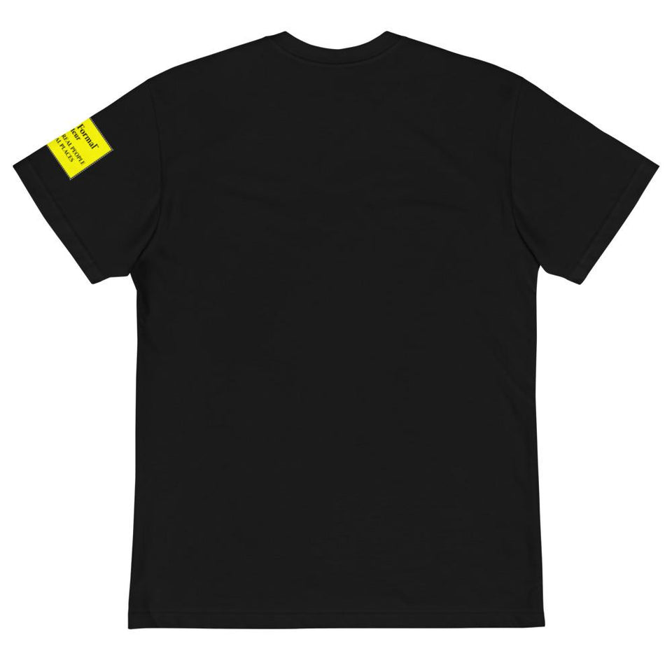 black label t-shirt