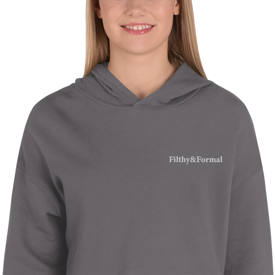 F&F Essential Cropped Hoodie