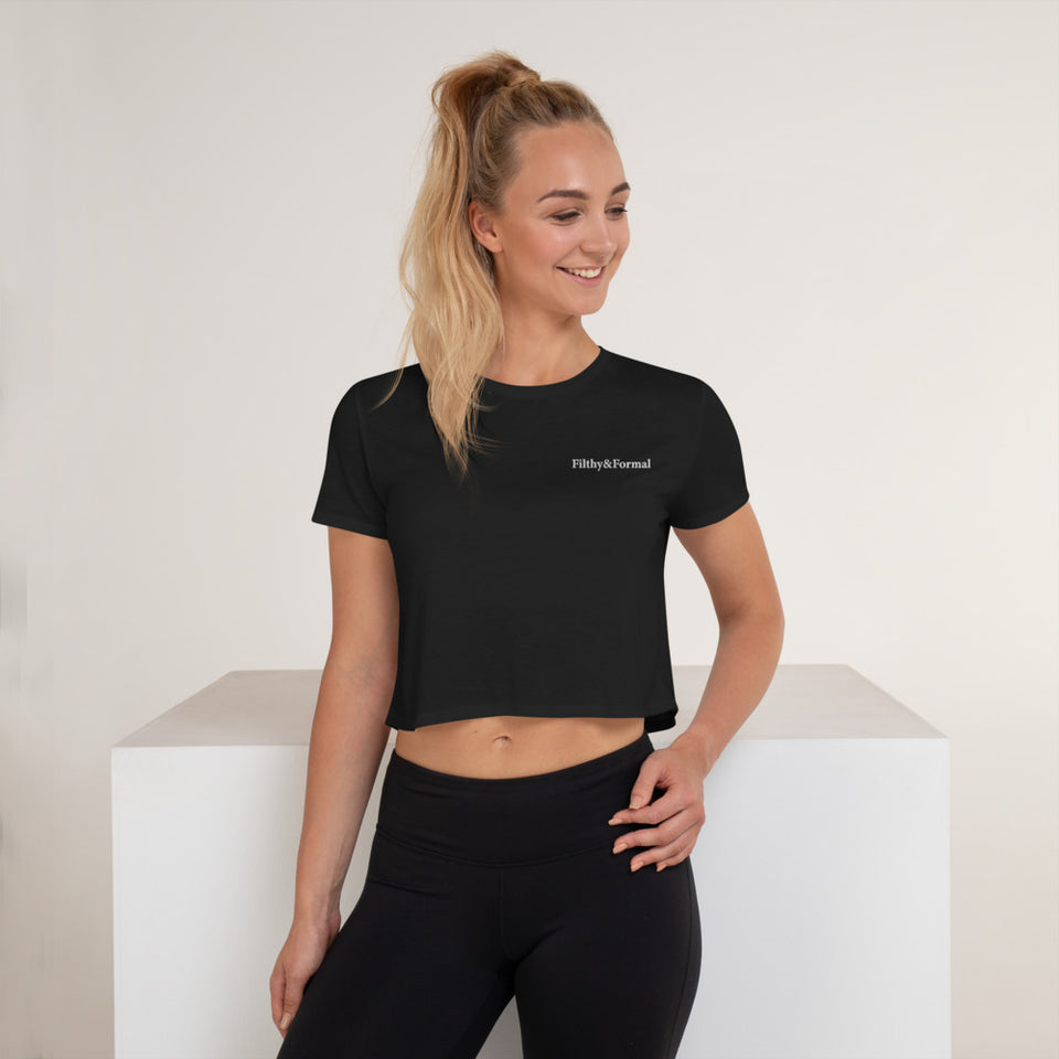 F&F Essential Embroidered Crop Top