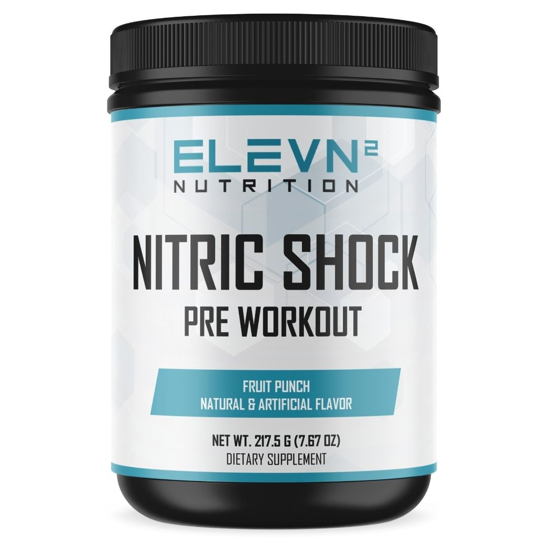 Nitric Shock Pre Workout- Fruit Punch