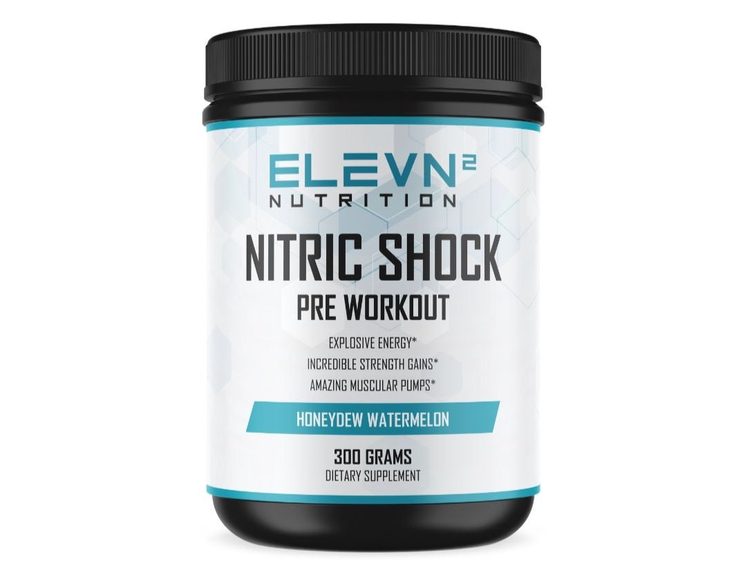 Nitric Shock Pre Workout - Honeydew Watermelon