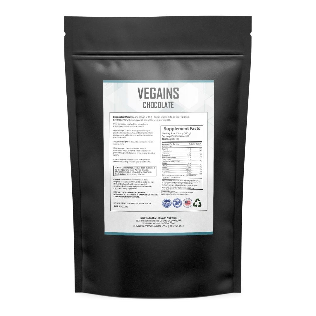 Vegains Chocolate Protein