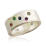 Load image into Gallery viewer, Birthstone Ring - You Choose Five Stones