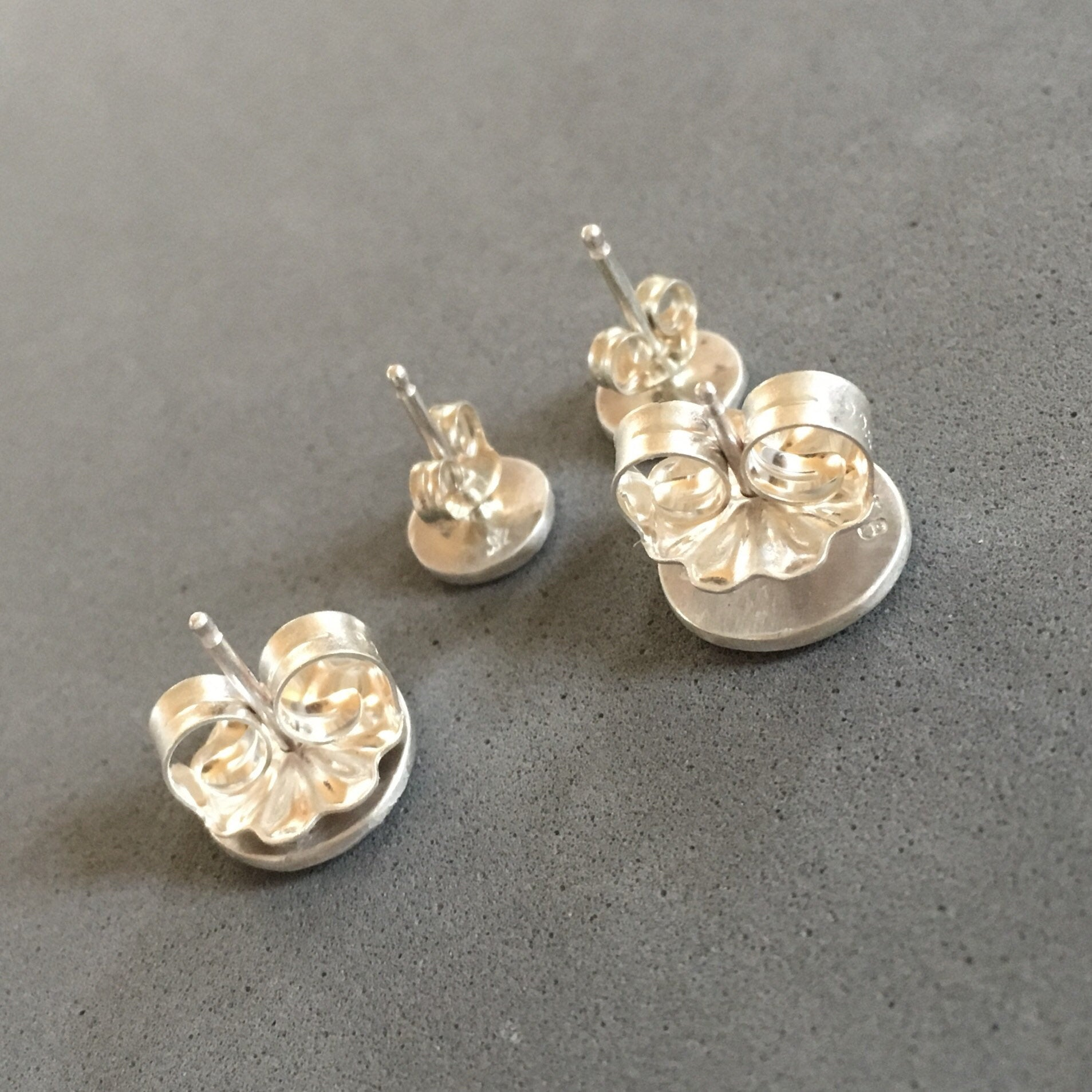 Set of Four Stud Earrings