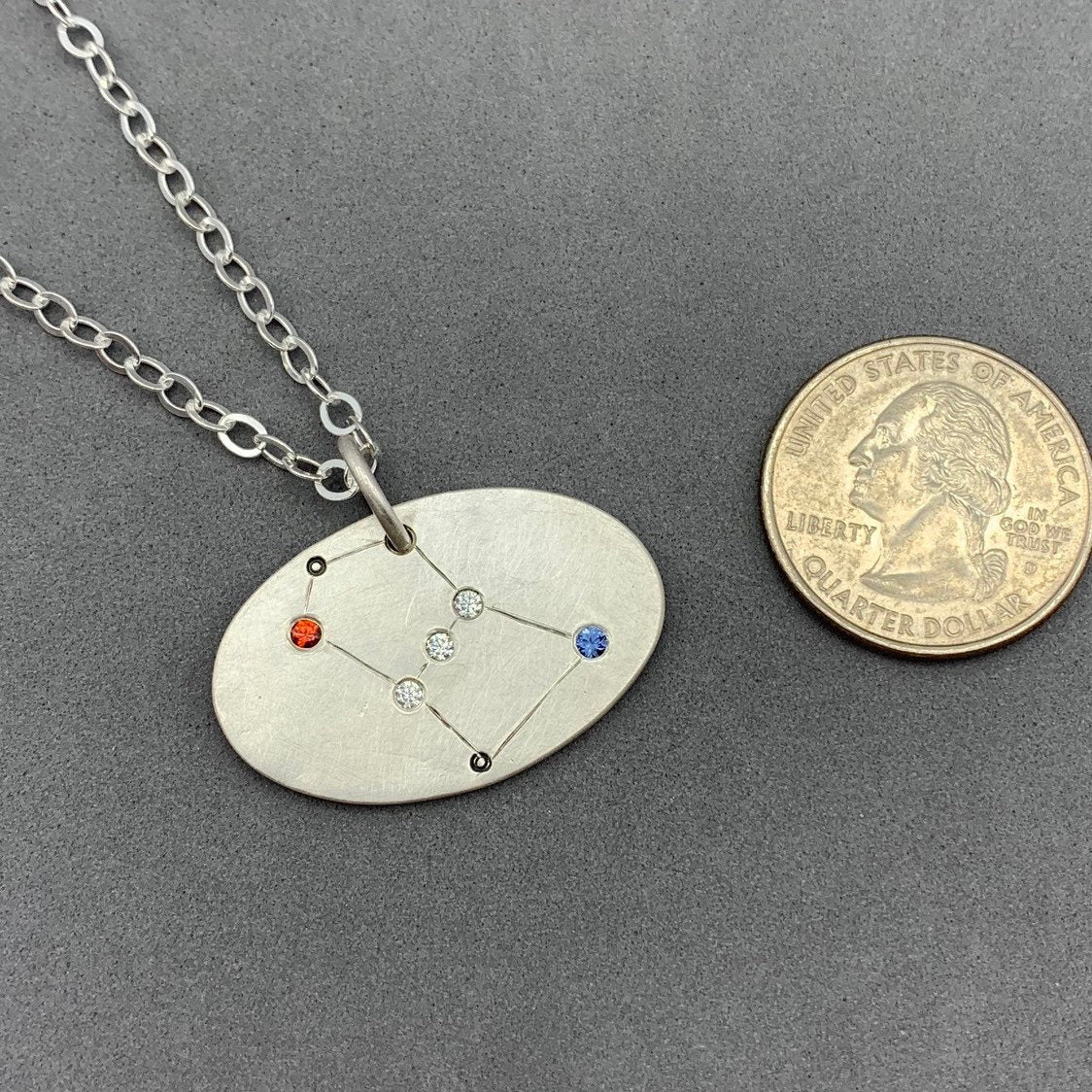 Orion Constellation Pendant